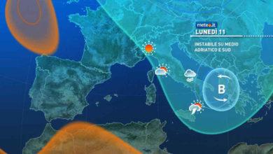 Photo of Meteo: previsioni del tempo oggi e domani