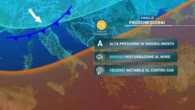 Photo of Meteo ottobre 2021: previsioni, temperature e tendenza per la parte finale