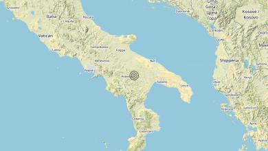 Photo of Terremoto 4 km E Campomaggiore (PZ) – Magnitudo (ML) 3.4