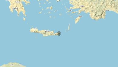 Photo of Terremoto Crete, Greece [Sea: Greece] – Magnitudo (ML) 6.3