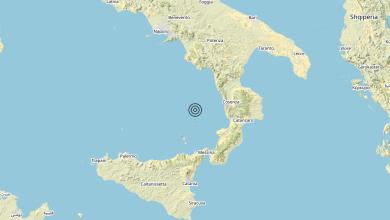Photo of Terremoto Tirreno Meridionale (MARE) – Magnitudo (ML) 3.1