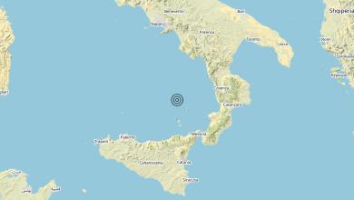 Photo of Terremoto Tirreno Meridionale (MARE) – Magnitudo (ML) 3.4